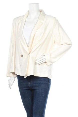 Дамско сако H&M, Размер L, Цвят Бежов, 95% вискоза, 5% полиамид, Цена 5,20лв.