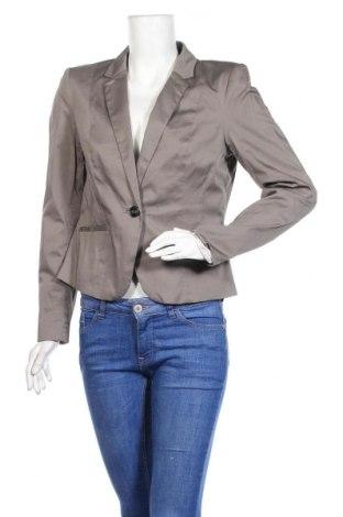 Дамско сако H&M, Размер L, Цвят Кафяв, 97% памук, 3% еластан, Цена 12,80лв.