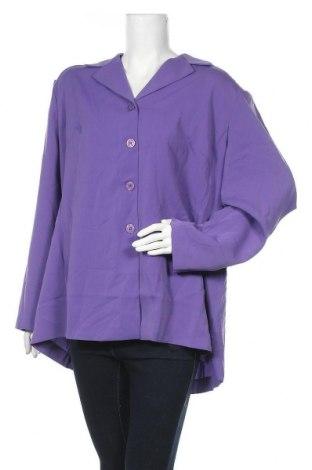 Дамско сако Jessica London, Размер XXL, Цвят Лилав, Полиестер, Цена 29,40лв.
