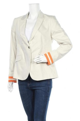 Γυναικείο σακάκι MOS MOSH, Μέγεθος L, Χρώμα Γκρί, 53% βαμβάκι, 44% πολυαμίδη, 3% ελαστάνη, Τιμή 74,86€