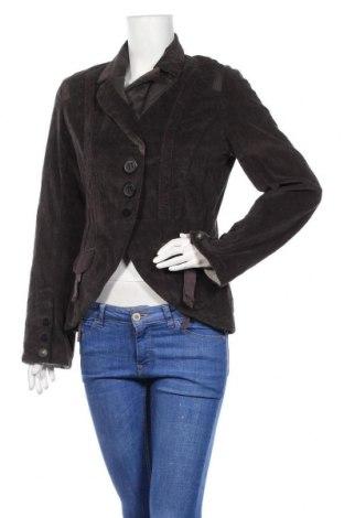 Дамско сако One Step, Размер M, Цвят Кафяв, 99% памук, 1% еластан, Цена 9,58лв.