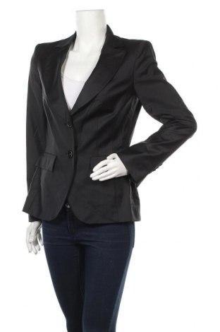 Дамско сако Pietro Filipi, Размер M, Цвят Черен, 85% вълна, 11% полиамид, 4% еластан, Цена 14,80лв.