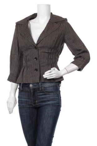 Дамско сако Verse, Размер M, Цвят Кафяв, 80% лен, 10% памук, 10% полиестер, Цена 6,09лв.