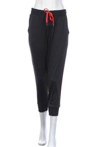 Дамско спортно долнище, Размер L, Цвят Черен, 92% полиестер, 8% еластан, Цена 21,95лв.