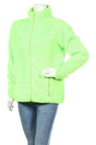 Дамско спортно горнище Nirvana, Размер XL, Цвят Зелен, Полиестер, Цена 17,96лв.