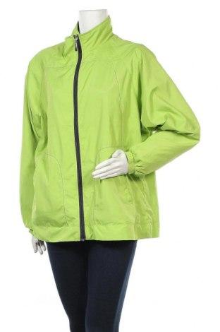 Дамско спортно горнище Sports, Размер XL, Цвят Зелен, Полиестер, Цена 27,93лв.