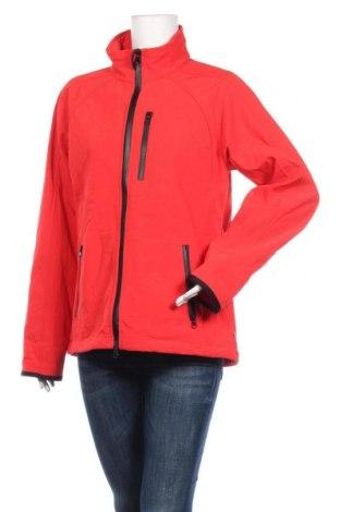 Дамско спортно яке, Размер XL, Цвят Червен, 86% полиестер, 14% еластан, Цена 40,90лв.