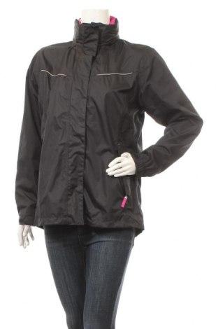 Дамско спортно яке Crane, Размер M, Цвят Черен, 100% полиестер, Цена 40,90лв.