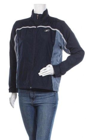 Дамско спортно яке Reebok, Размер M, Цвят Син, Полиестер, Цена 35,91лв.