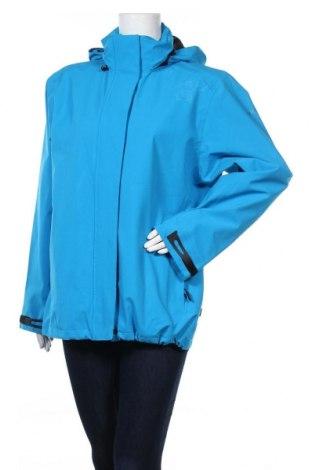 Дамско спортно яке Rukka, Размер L, Цвят Син, Полиестер, Цена 37,91лв.
