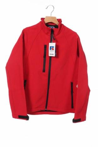 Дамско спортно яке Russell, Размер XS, Цвят Червен, Полиестер, Цена 61,85лв.