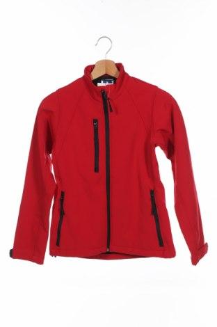 Дамско спортно яке Russell, Размер XS, Цвят Червен, 92% полиестер, 8% еластан, Цена 45,89лв.
