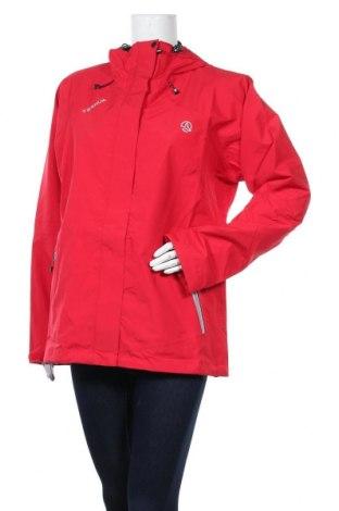Дамско спортно яке Ternua, Размер XL, Цвят Червен, Полиамид, Цена 128,05лв.