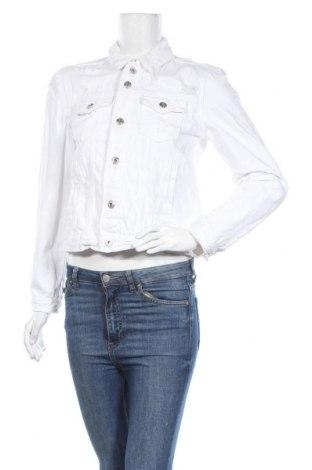 Дамско яке Fb Sister, Размер M, Цвят Бял, Памук, Цена 42,89лв.
