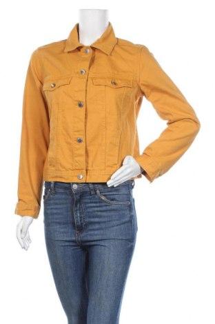 Дамско яке H&M Divided, Размер S, Цвят Жълт, Памук, Цена 29,30лв.
