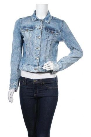 Дамско яке H&M L.O.G.G., Размер M, Цвят Син, 99% памук, 1% еластан, Цена 29,30лв.
