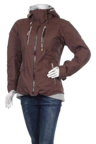 Дамско яке за зимни спортове Craft, Размер M, Цвят Кафяв, Полиамид, Цена 57,61лв.