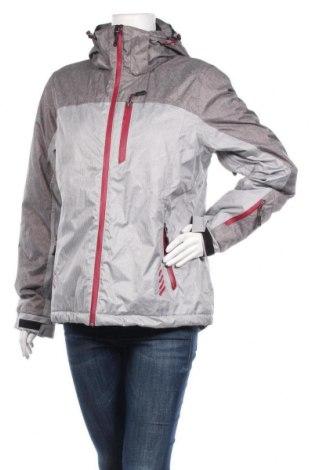 Дамско яке за зимни спортове Crane, Размер XL, Цвят Сив, Полиестер, Цена 51,98лв.