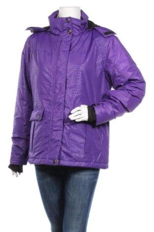 Дамско яке за зимни спортове Janina, Размер M, Цвят Лилав, Полиестер, Цена 38,22лв.