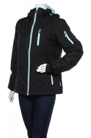 Дамско яке за зимни спортове Janina, Размер M, Цвят Черен, Полиестер, Цена 55,34лв.
