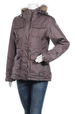 Дамско яке за зимни спортове Killtec, Размер M, Цвят Сив, Полиестер, Цена 65,10лв.