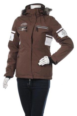 Дамско яке за зимни спортове Killtec, Размер S, Цвят Кафяв, 100% полиестер, Цена 65,10лв.