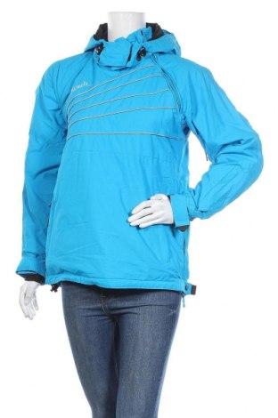 Дамско яке за зимни спортове Maui Wowie, Размер S, Цвят Син, Полиестер, Цена 70,56лв.