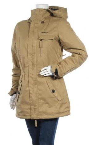 Дамско яке за зимни спортове O'neill, Размер M, Цвят Бежов, Полиестер, Цена 87,47лв.