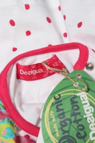 Παιδική μπλούζα Desigual, Μέγεθος 2-3m/ 56-62 εκ., Χρώμα Πολύχρωμο, Τιμή 12,57€