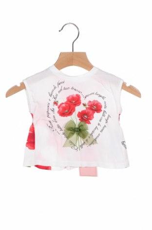 Παιδική μπλούζα Monnalisa, Μέγεθος 3-6m/ 62-68 εκ., Χρώμα Πολύχρωμο, Βισκόζη, Τιμή 16,42€