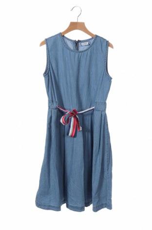 Παιδικό φόρεμα Friboo, Μέγεθος 12-13y/ 158-164 εκ., Χρώμα Μπλέ, Βαμβάκι, Τιμή 12,06€