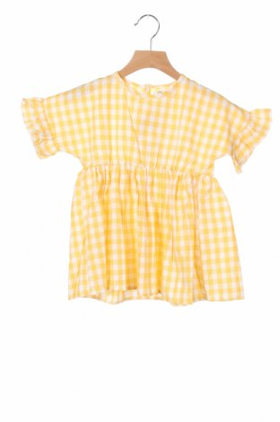 Παιδικό φόρεμα Little Celebs, Μέγεθος 7-8y/ 128-134 εκ., Χρώμα Κίτρινο, Βαμβάκι, Τιμή 9,60€