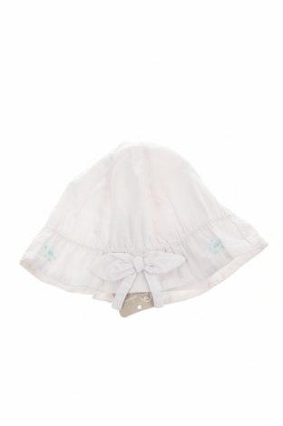 Детска шапка Grain De Ble, Цвят Бял, Памук, Цена 12,60лв.