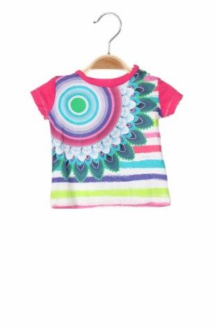 Παιδικό μπλουζάκι Desigual, Μέγεθος 2-3m/ 56-62 εκ., Χρώμα Πολύχρωμο, Τιμή 12,57€