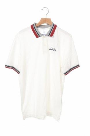 Детска тениска Jack & Jones, Размер 15-18y/ 170-176 см, Цвят Бял, Памук, Цена 12,60лв.