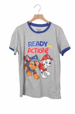 Παιδικό μπλουζάκι Nickelodeon, Μέγεθος 8-9y/ 134-140 εκ., Χρώμα Γκρί, 90% βαμβάκι, 10% βισκόζη, Τιμή 10,86€
