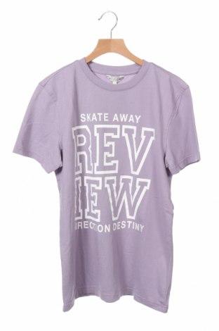 Παιδικό μπλουζάκι Review, Μέγεθος 14-15y/ 168-170 εκ., Χρώμα Βιολετί, Βαμβάκι, Τιμή 6,70€