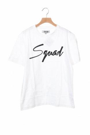 Детска тениска, Размер 12-13y/ 158-164 см, Цвят Бял, Памук, Цена 11,50лв.