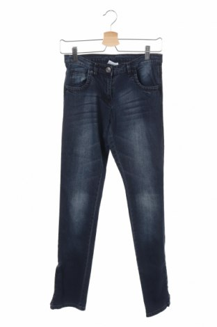 Παιδικά τζίν Yigga, Μέγεθος 12-13y/ 158-164 εκ., Χρώμα Μπλέ, 98% βαμβάκι, 2% ελαστάνη, Τιμή 5,00€