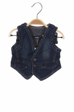 Детски елек Okay, Размер 18-24m/ 86-98 см, Цвят Син, 98% памук, 2% еластан, Цена 16,17лв.