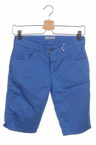 Παιδικό κοντό παντελόνι Cesare Paciotti 4US, Μέγεθος 11-12y/ 152-158 εκ., Χρώμα Μπλέ, 97% βαμβάκι, 3% ελαστάνη, Τιμή 30,16€