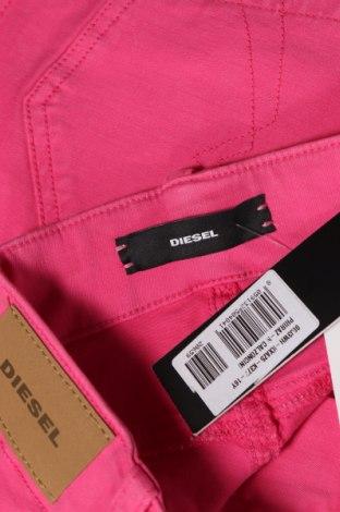 Παιδικό κοντό παντελόνι Diesel, Μέγεθος 15-18y/ 170-176 εκ., Χρώμα Ρόζ , 91% βαμβάκι, 6% πολυεστέρας, 3% ελαστάνη, Τιμή 29,82€