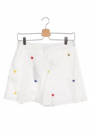 Детски къс панталон Diesel, Размер 13-14y/ 164-168 см, Цвят Бял, 100% памук, Цена 57,85лв.