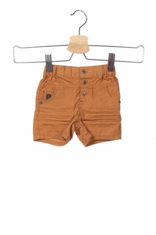 Παιδικό κοντό παντελόνι Obaibi, Μέγεθος 3-6m/ 62-68 εκ., Χρώμα Καφέ, Βαμβάκι, Τιμή 11,69€