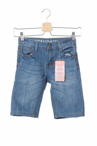 Παιδικό κοντό παντελόνι Staccato, Μέγεθος 6-7y/ 122-128 εκ., Χρώμα Μπλέ, 80% βαμβάκι, 20% πολυεστέρας, Τιμή 7,64€