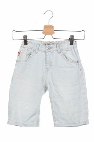 Παιδικό κοντό παντελόνι Terranova, Μέγεθος 9-10y/ 140-146 εκ., Χρώμα Μπλέ, Βαμβάκι, Τιμή 8,72€