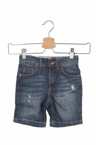 Παιδικό κοντό παντελόνι United Colors Of Benetton, Μέγεθος 9-12m/ 74-80 εκ., Χρώμα Μπλέ, Βαμβάκι, Τιμή 11,06€