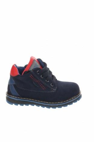 Παιδικά παπούτσια Balducci, Μέγεθος 24, Χρώμα Μπλέ, Φυσικό σουέτ, δερματίνη, Τιμή 20,41€