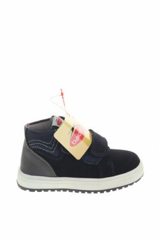 Детски обувки Balducci, Размер 23, Цвят Син, Естествен велур, еко кожа, текстил, Цена 42,84лв.