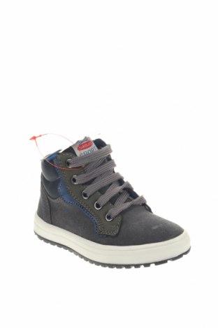 Παιδικά παπούτσια Balducci, Μέγεθος 24, Χρώμα Γκρί, Φυσικό σουέτ, δερματίνη, κλωστοϋφαντουργικά προϊόντα, Τιμή 23,38€